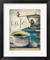 Framed Cafe Latte 1