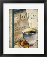 Framed Cafe Latte 2