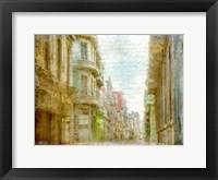 Framed Havana Streets