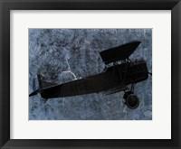 Framed Indigo Plane