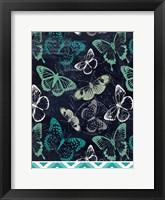 Framed Butterflies and Chevron