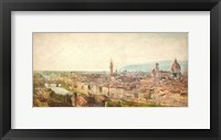 Framed Florence View