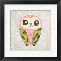 Framed Owl Love 1