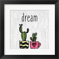 Cacti A Framed Print