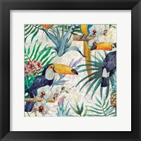 Framed Tropical Life 1