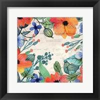 Framed Spring Carte Postale 1