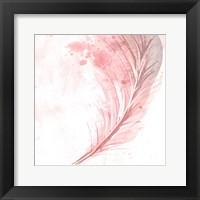 Framed Feathered White 1