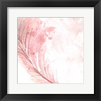 Framed Feathered White 2