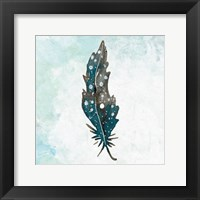 Framed Feathered Blues 1