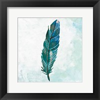 Framed Feathered Blues 2