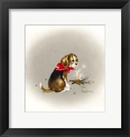 Framed Beagle Scout