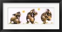 Framed Bunny And Lightning Bug
