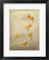 Framed Glittering Goldfish