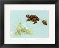 Framed Spring Fling - Trutle And Snail