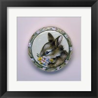 Framed Bunny Circle II