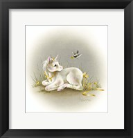 Framed Baby Unicorn