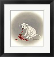 Framed Dalmation 5 - Chile Dog