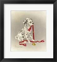 Framed Dalmation 4- Hot Diggity Dog