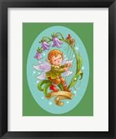 Framed Flower Elf A Harper