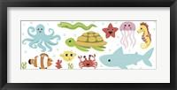 Framed Underwater Designs