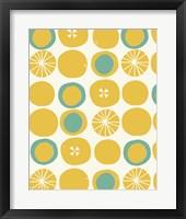 Framed Lemon Dots