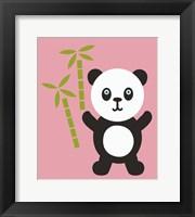 Framed Panda Bear