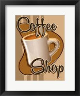 Framed Coffee Shop