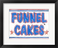 Framed Funnel Cakes Rectangle