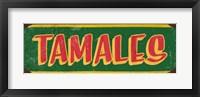 Framed Tamales Dk Green