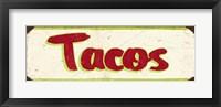 Framed Tacos Cream
