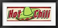 Hot Chili Cream Framed Print