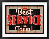 Framed Best Service
