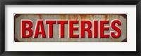 Framed Batteries Rusted Garage 1