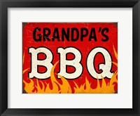 Framed BBQ Grandpas