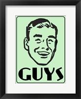 Framed Guys Green