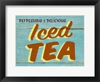Framed Iced Tea Rustic - Rectangle