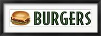Framed Burgers
