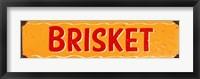 Framed Brisket