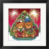 Framed Christmas Fireworks 3