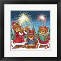 Framed Christmas Fireworks
