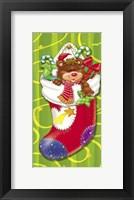 Framed Christmas Stockings And Bears 6
