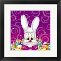 Framed Easter Bunny