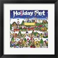 Framed Holiday Pet