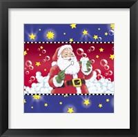 Framed Santa Bubbles