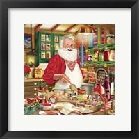 Framed Santa Cooking 26