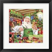 Framed Santa Factory 1