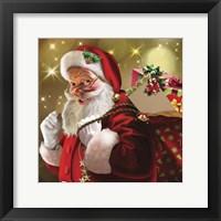 Framed Santa Gift