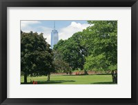 Framed Freedom Tower From Governors Island