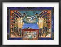 Framed Horus Celestial King