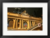 Framed Grand Central Station Christmas